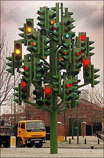 Traffic light hell